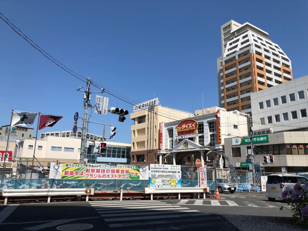 2019年5月志木駅前