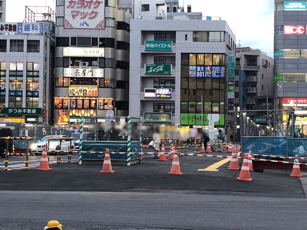 志木駅南口バス停変更